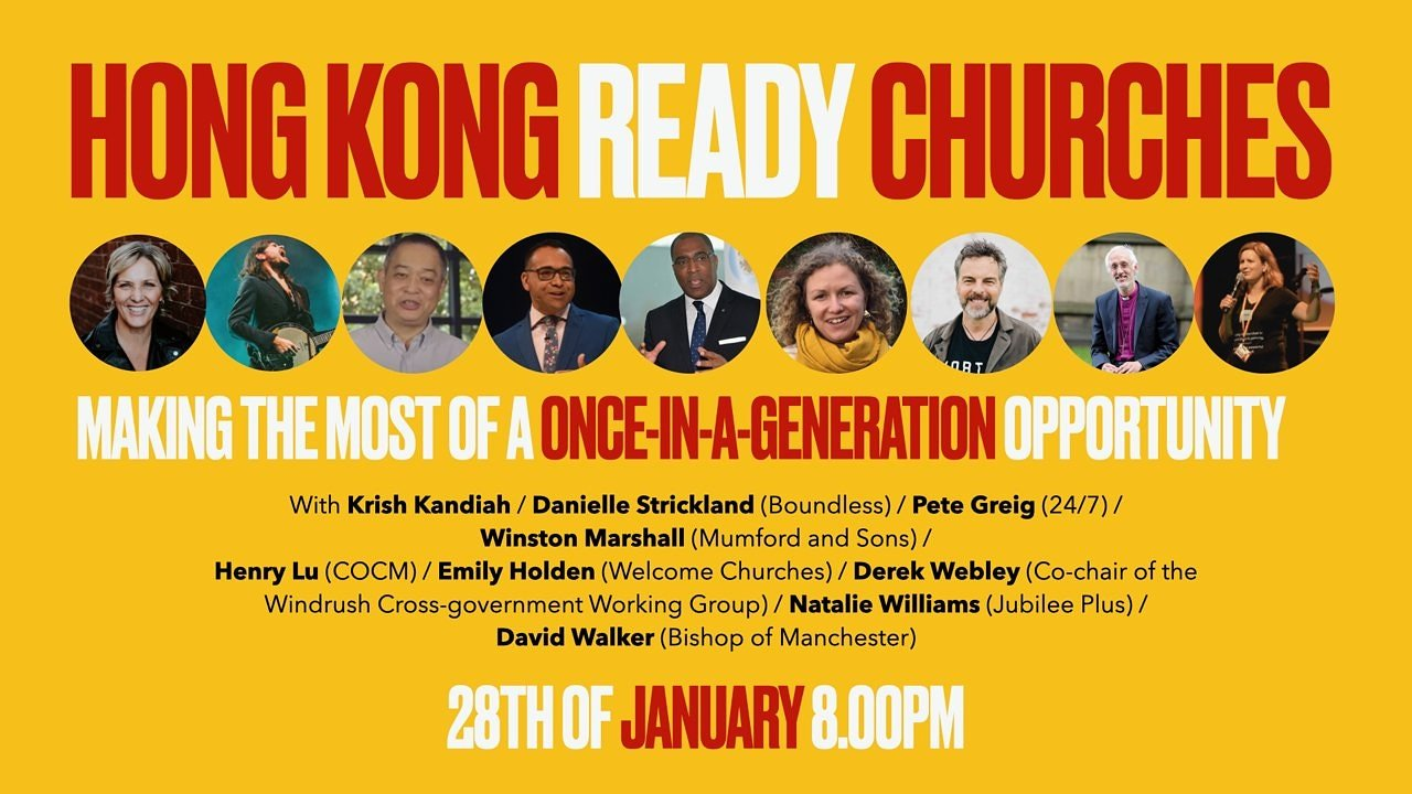 Hong Kong Ready Churches - Making the Most of a Once in a Generation Opportunity