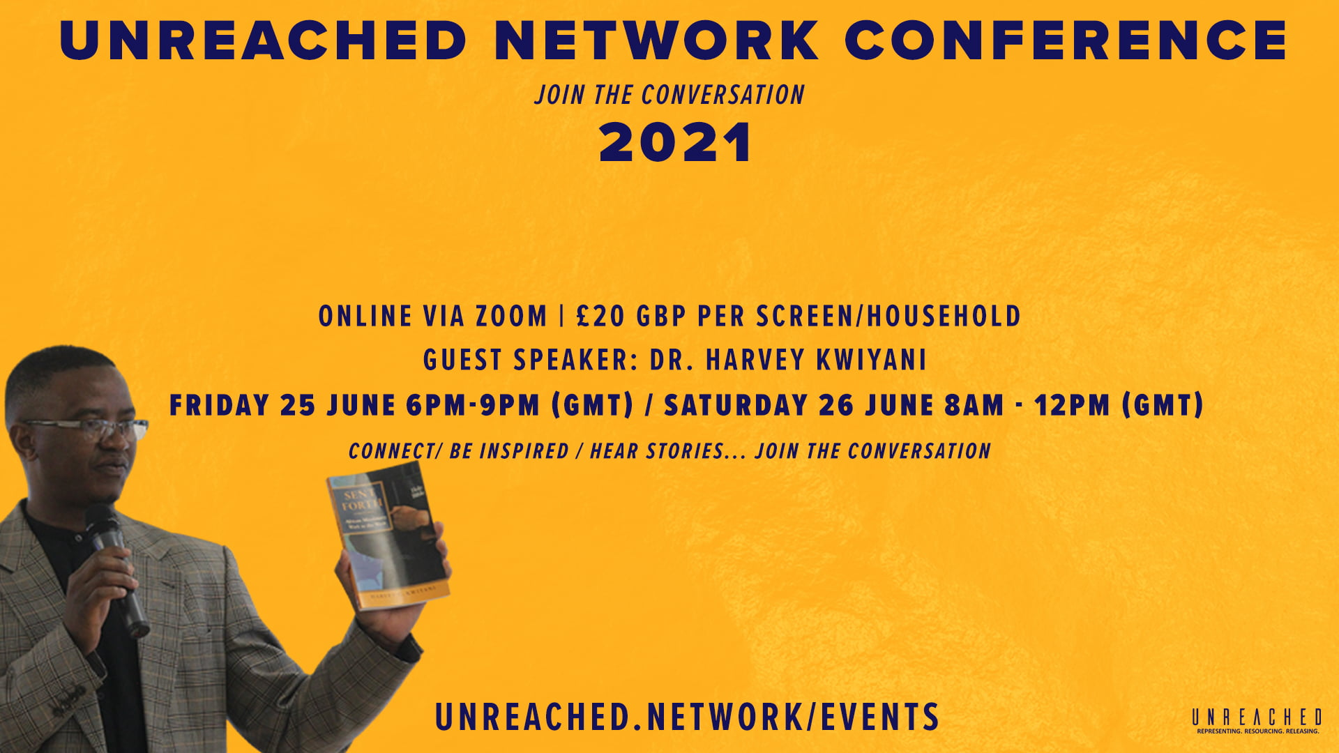 Unreached Network Conference 2021: Join the Conversation/ Find your Place